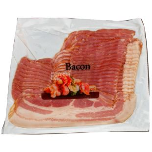 Mecom, Бекон копчено-варений, нарізка, в/с, 500 г