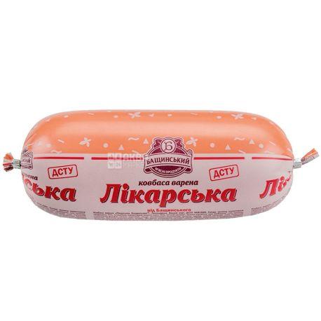 Бащинський, Ковбаса варена лікарська, в/с, 500 г