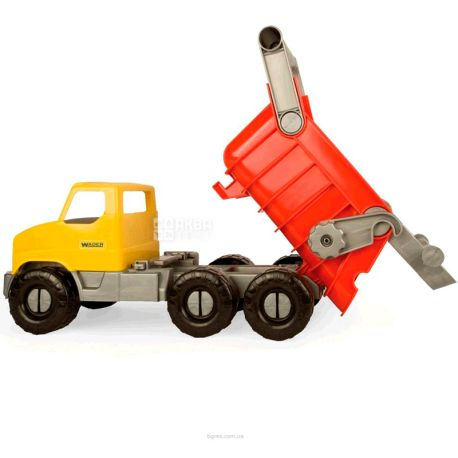 Wader City Truck, Іграшка Самоскид, різнобарвна, для дітей з 3-х років