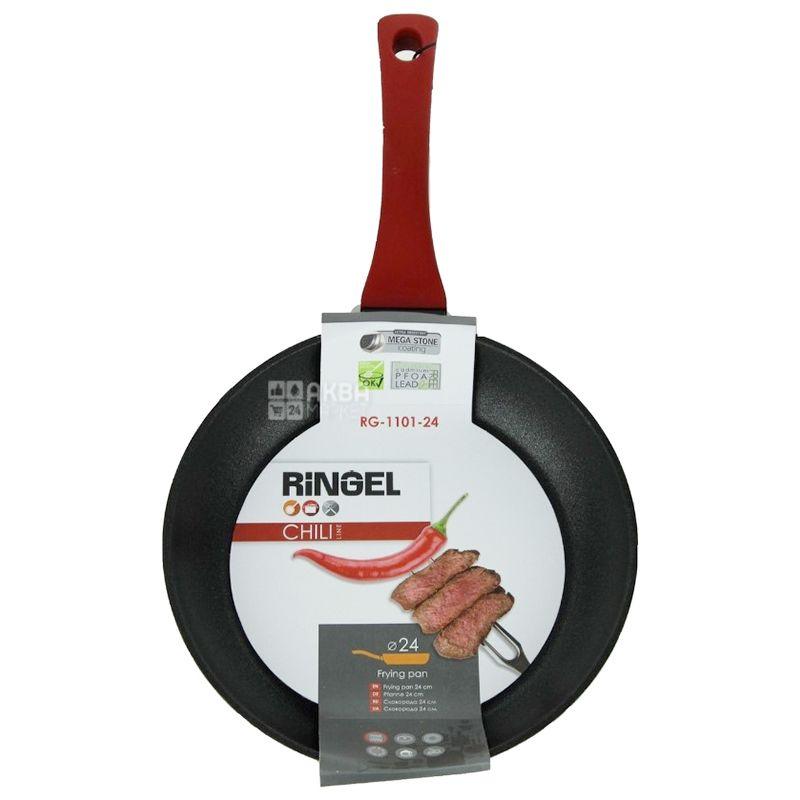Ringel Chili Сковорода з антипригарним покриттям, алюміній, 24 см