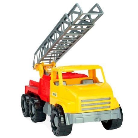 Wader City Truck, Іграшка Пожежна машина, різнобарвна, для дітей з 3-х років