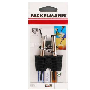 Fackelmann, Пробка-лійка для пляшок, метал, 2 шт.