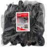 Quickpack, Disposable plastic spoons, black, 100 pcs.