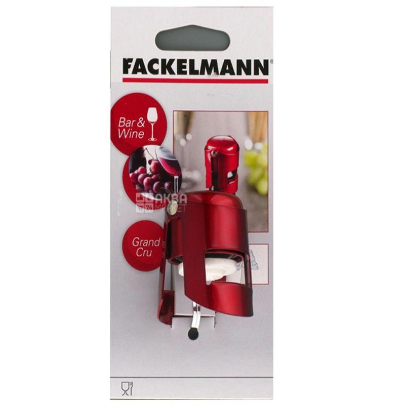 Fackelmann GRANDCRU, пробка для шампанського, червона, 40х55 мм