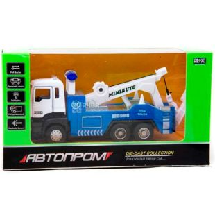 Automotive industry, Toy car, tow truck, metal, for children from 3 years