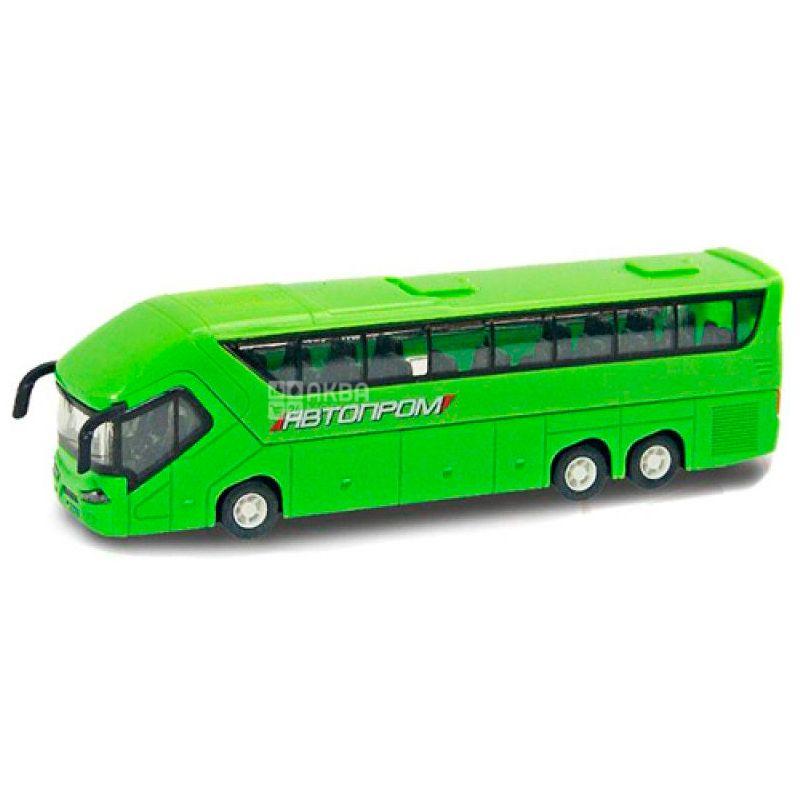 Автопром, Машина іграшкова, автобус, металева, для дітей з 3-х років