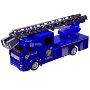 Automotive industry, Machine toy, machine-crane, metal, for children from 3 years