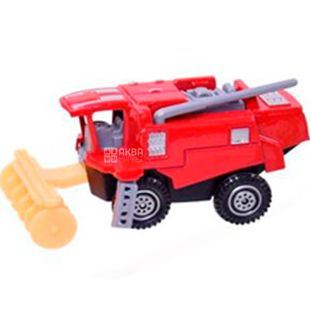 Automotive industry, Machine toy, combine, metal, for children from 3 years