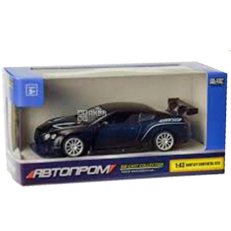 Автопром Bentley Continental, Машина іграшкова, металева, для дітей з 3-х років