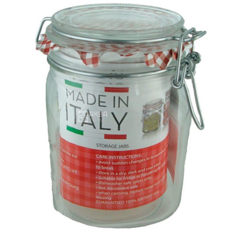 Borgonovo Gourmet Ermeti, Банка для сыпучих продуктов, 1 л