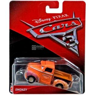 Disney Cars, Машина игрушечная, пикап Smokey, пластик, для детей с 3-х лет