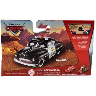 Disney Cars, Машина игрушечная, Sheriff, пластик, для детей с 3-х лет