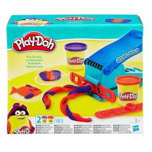 Hasbro, Набор для творчества Play-Doh Веселая фабрика, 168 г