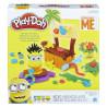 Hasbro, Набор для творчества Play-Doh Рай миньонов, 168 г