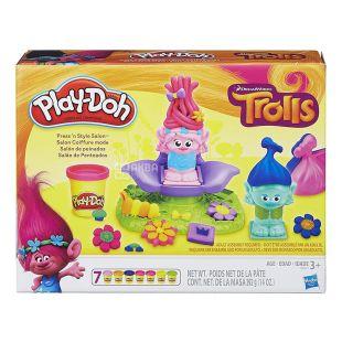 Hasbro, Набор для творчества Play-Doh Тролли: Салон красоты, 392 г