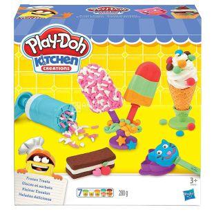 Hasbro, Набор для творчества Play-Doh Создай любимое мороженое, 280 г