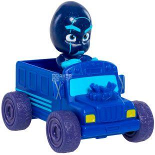 PJ Masks, Игровой набор, Ночной ниндзя и мини-машинка, детям с 3-х лет, 8 см