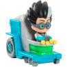 PJ Masks, Игровой набор, Ромео и мини-машинка, детям с 3-х лет, 8 см
