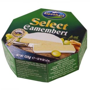 Alpenhain Select Camembert, Сыр с плесенью, 125 г