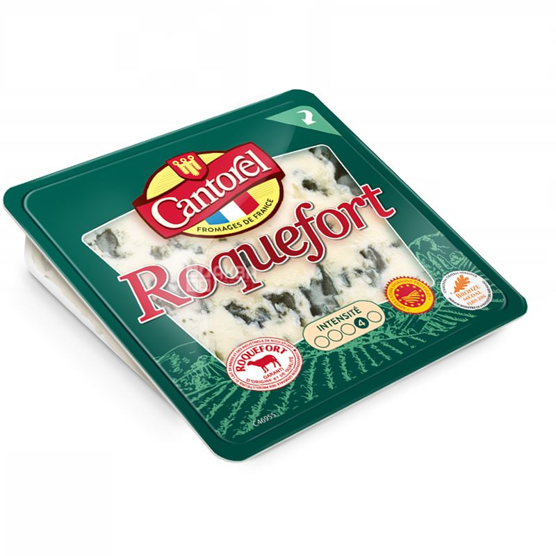 Cantorel Roquefort, Сыр Рокфор, 100 г
