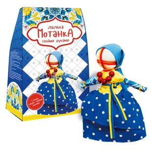 Strateg, Кукла-мотанка своими руками Украиночка, 1 шт.