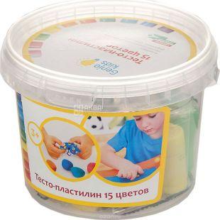 Genio Kids, Тесто-пластилин, 15 цветов, 3+
