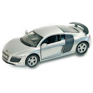 Automotive industry Audi R8 GT, toy car, metal, for children from 3 years