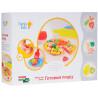 Genio Kids, Plasticine, Creativity Set, Cooking Pizza, 8x50 g