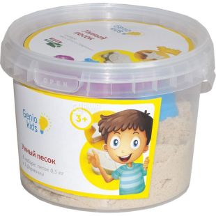 Genio Kids, Kinetic Sand, Smart Sand, 0.5 kg