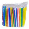 Микспак, Трубочки для мартини, 12,5 см, цветные, 200 шт.