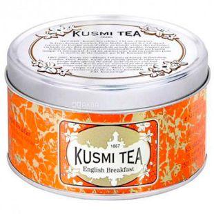 Kusmi Tea, English Breakfast, 125 г, Чай Кусми Ти, Английский завтрак, черный, ж/б