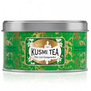 Kusmi Tea, Gunpowder, 125 г, Чай Кусми Ти, Ганпаудер, зеленый, ж/б