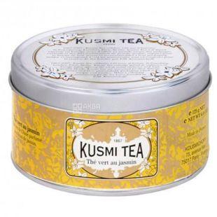 Kusmi Tea, Jasmine, 125 г, Чай Кусми Ти, Жасмин, зеленый, ж/б