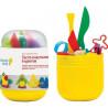 Genio Kids, Мини-набор тесто-пластилин, 6 цветов, 1 шт.