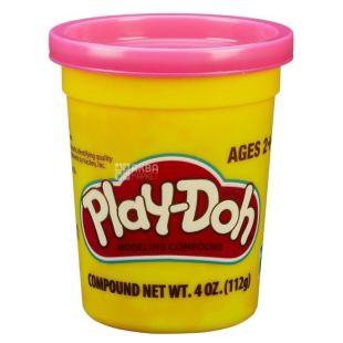 Hasbro, Баночка пластиліну Play-Doh, рожевий, 112 г
