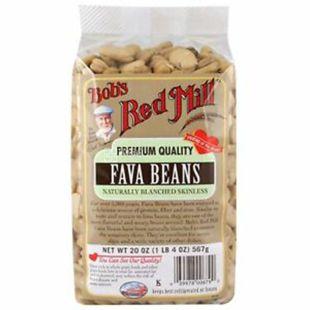 Bob's Red Mill, Fava beans, 567 г, Бобс Ред Мілл, Квасоля Фава
