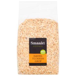Smaakt, 1,5 кг, Пластівці Смакт, вівсяні, органічні
