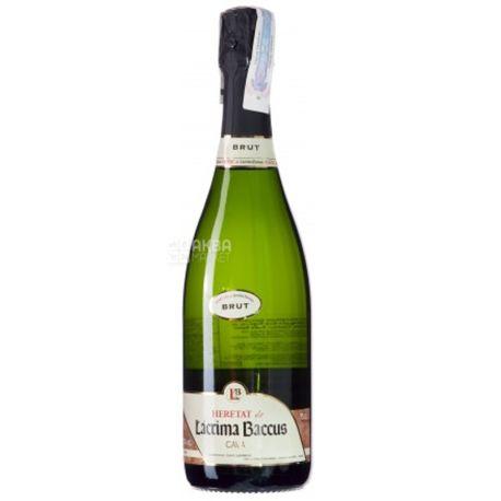 Heretat Brut, Lacrima Baccus, Sparkling White Wine, 0.75 L