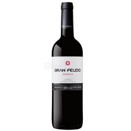 Bodegas Julian Chivite, Gran Feudo Reserva , Вино красное сухое, 0,75 л