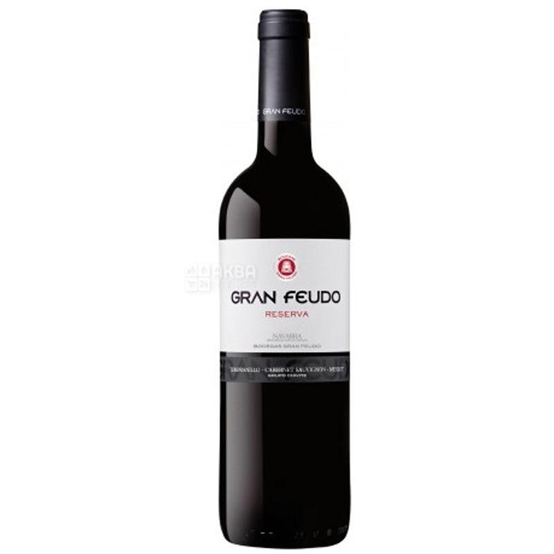 Reserva Gran Feudo, Bodegas Julian Chivite, Dry red wine, 0.75 L
