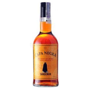 Capa Negra, Sandeman Jerez, Бренді, до 6 міс. витримки, 0,7 л