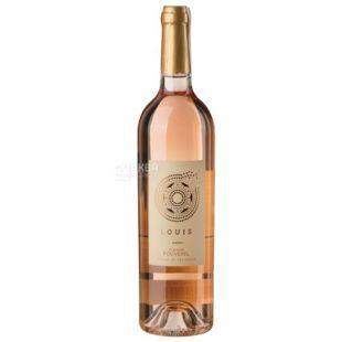 Domaine Pouverel Rose, Saint Tropez, Dry Rose Wine, 0.75 L
