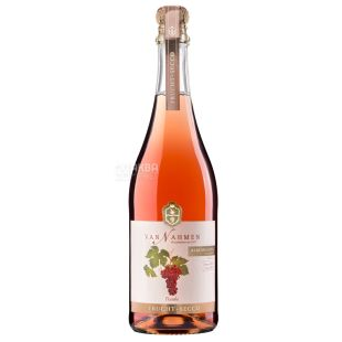 Van Nahmen, Traube, 0,75 л, Ван Намен, Виноград, Напиток фруктовый игристый, стекло