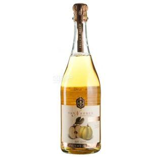 Van Nahmen, Apple-quince, 0,75 л, Ван Намен, Яблоко-Айва, Напиток фруктовый игристый, стекло