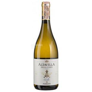 Altavilla della Corte Grillo, Firriato, Вино белое сухое, 0,75 л