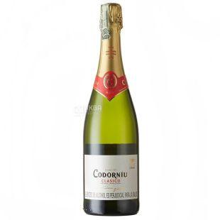Cava Clasico Brut, Codorniu, Sparkling White Wine, 0.75 L