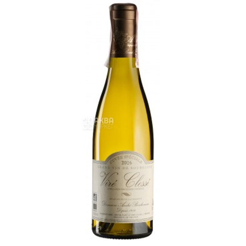 Vire Clesse Cuvee Speciale, Вино белое сухое  0,375 л