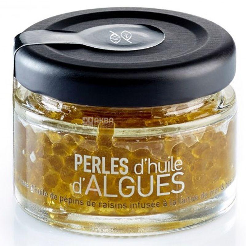 Groix & Nature, Жемчужины из масла с морскими водорослями, 30 г