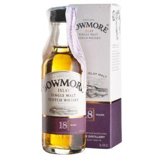 Bowmore, Single Malt Whiskey, 18 years old, 0.05 L