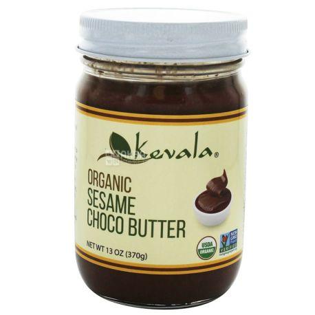 Kevala, Паста шоколадно-кунжутная органическая, 370 г